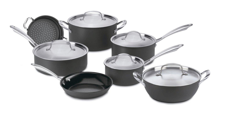 Cuisinart Green Gourmet Hard-Anodized Nonstick Cookware Set Review