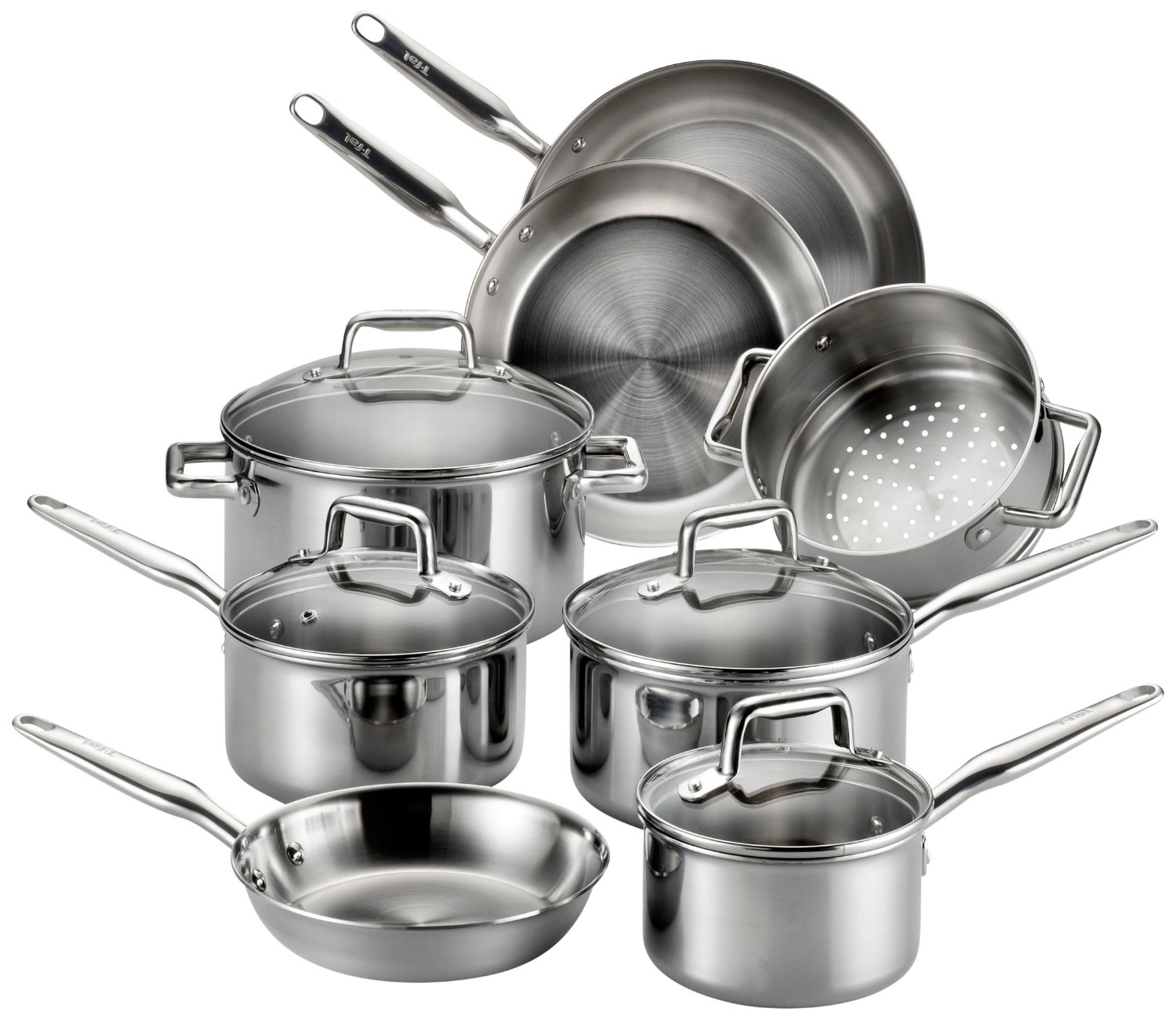 T-fal Tri-ply Stainless Steel Multi-Clad Cookware Review