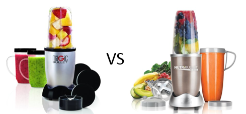 Nutribullet vs Magic Bullet - Best Bullet Blender Comparison