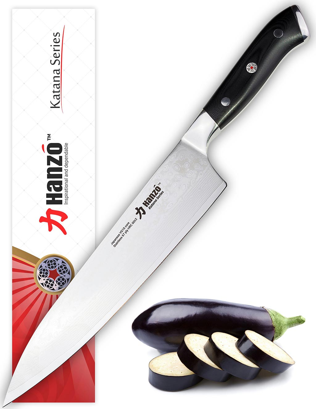 Hanzo Katana Chef knife