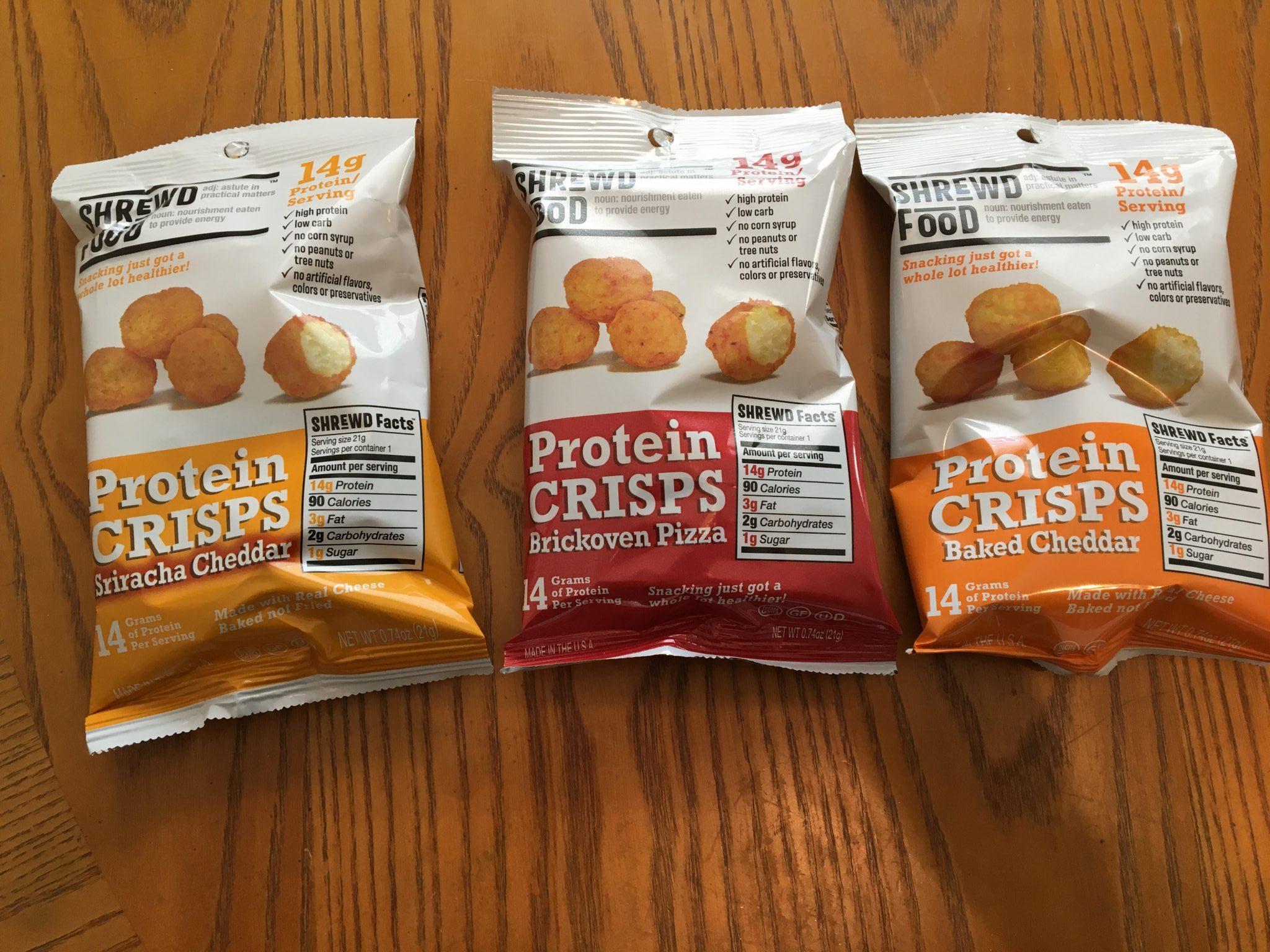 Shrewd Food Proteion Snaks